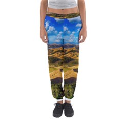 Hills Countryside Landscape Rural Women s Jogger Sweatpants by Celenk