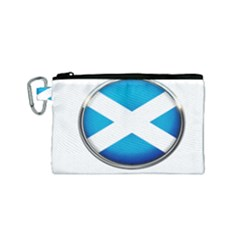 Scotland Nation Country Nationality Canvas Cosmetic Bag (small)