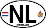 Netherlands Euro Oval - NL