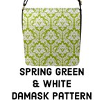 Spring Green Damask Pattern