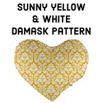Sunny Yellow Damask pattern