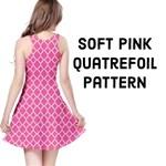 Soft Pink Quatrefoil Pattern