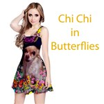 Chi Chi in Butterflies, Chihuahua Dog in Cute Hat