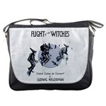 Flight Of The Witches Messenger Bag