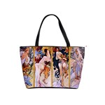Four Seasons by Alphonse Mucha 1895 Classic Shoulder Handbag