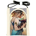 Fruit by Alfons Mucha 1897 Shoulder Sling Bag
