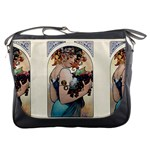 Fruit by Alfons Mucha 1897 Messenger Bag