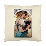 Fruit by Alfons Mucha 1897 Cushion Case (Two Sides)