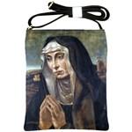Trauernde Madonna Shoulder Sling Bag