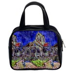 The Church at Auvers by Vincent van Gogh 1890 Classic Handbag (Two Sides)
