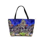 The Church at Auvers by Vincent van Gogh 1890 Classic Shoulder Handbag