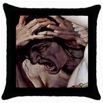 Jealousy Throw Pillow Case (Black)