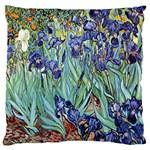 Irises by Vincent van Gogh 1898 Large Cushion Case (Two Sides)