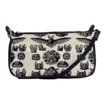 Haeckel Chiroptera Shoulder Clutch Bag