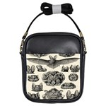 Haeckel Chiroptera Girls Sling Bag