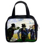 The Drinkers By Vincent Van Gogh 1890 Classic Handbag (Two Sides)