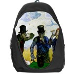 The Drinkers By Vincent Van Gogh 1890 Backpack Bag