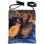A Pair Of Shoes By Vincent Van Gogh 1887 Shoulder Sling Bag