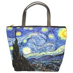 Starry Night By Vincent Van Gogh 1889 Bucket Bag