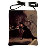 The Bewitched Man By Francisco Goya 1798 Shoulder Sling Bag