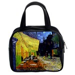 Cafe Terrace At Night By Vincent Van Gogh 1888  Classic Handbag (Two Sides)