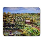 Tenant House in Summer by Ave Hurley - Small Mousepad