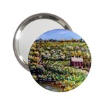 Tenant House in Summer by Ave Hurley - 2.25  Handbag Mirror