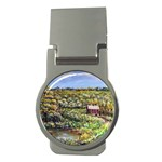 Tenant House in Summer by Ave Hurley - Money Clip (Round)