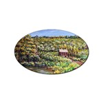 Tenant House in Summer by Ave Hurley - Sticker (Oval)