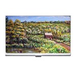 Tenant House in Summer by Ave Hurley - Business Card Holder