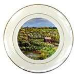 Tenant House in Summer by Ave Hurley - Porcelain Plate