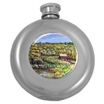 Tenant House in Summer by Ave Hurley - Hip Flask (5 oz)