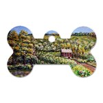 Tenant House in Summer by Ave Hurley - Dog Tag Bone (One Side)