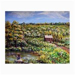 Tenant House in Summer by Ave Hurley - Glasses Cloth (Small, Two Sides)