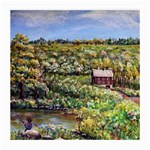 Tenant House in Summer by Ave Hurley - Glasses Cloth (Medium, Two Sides)