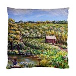 Tenant House in Summer by Ave Hurley - Cushion Case (One Side)