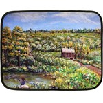 Tenant House in Summer by Ave Hurley - Mini Fleece Blanket(Two Sides)