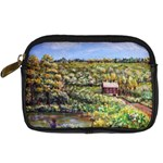 Tenant House in Summer by Ave Hurley - Digital Camera Leather Case