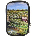 Tenant House in Summer by Ave Hurley - Compact Camera Leather Case