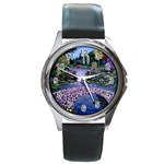 My Garden By Ave Hurley Ah 001 163 Original 1 45mg Round Metal Watch
