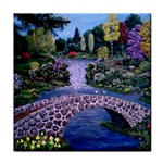 My Garden By Ave Hurley Ah 001 163 Original 1 45mg Tile Coaster