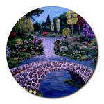 My Garden By Ave Hurley Ah 001 163 Original 1 45mg Round Mousepad