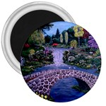 My Garden By Ave Hurley Ah 001 163 Original 1 45mg 3  Magnet