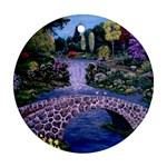 My Garden By Ave Hurley Ah 001 163 Original 1 45mg Ornament (Round)