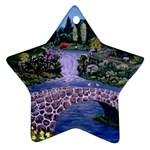 My Garden By Ave Hurley Ah 001 163 Original 1 45mg Ornament (Star)