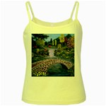 My Garden By Ave Hurley Ah 001 163 Original 1 45mg Yellow Spaghetti Tank