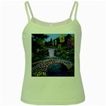 My Garden By Ave Hurley Ah 001 163 Original 1 45mg Green Spaghetti Tank