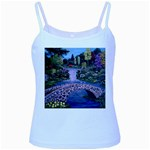 My Garden By Ave Hurley Ah 001 163 Original 1 45mg Baby Blue Spaghetti Tank