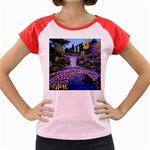 My Garden By Ave Hurley Ah 001 163 Original 1 45mg Women s Cap Sleeve T-Shirt