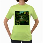 My Garden By Ave Hurley Ah 001 163 Original 1 45mg Women s Green T-Shirt